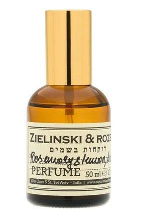 Духи концентрированные rosemary & lemon, neroli ZIELINSKI&ROZEN бесцветного цвета, арт. 4603720459149 | Фото 1