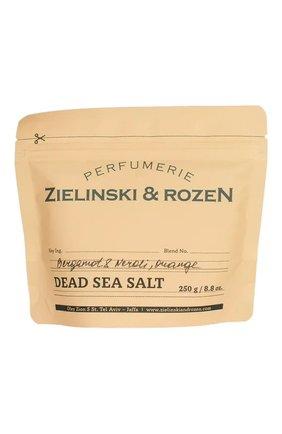 Соль мертвого моря bergamot & neroli, orange ZIELINSKI&ROZEN бесцветного цвета, арт. 7290116440217 | Фото 1