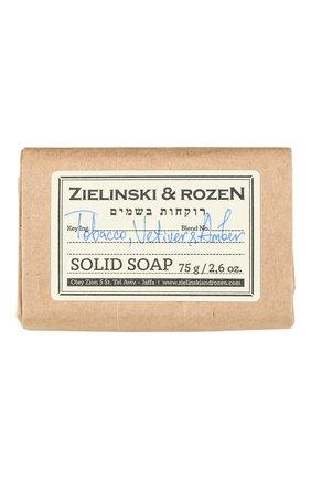 "Твердое мыло ""108"" tobacco, vetiver & amber ZIELINSKI&ROZEN бесцветного цвета, арт. 4627153153436 | Фото 1"