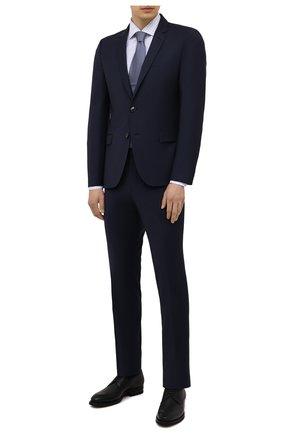 Мужской костюм HUGO темно-синего цвета, арт. 50450994 | Фото 1