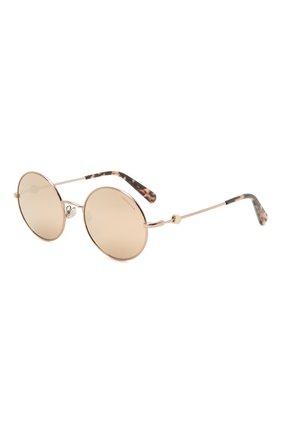 Мужские солнцезащитные очки MONCLER золотого цвета, арт. ML 0193 34Z 51 С/З ОЧКИ | Фото 1