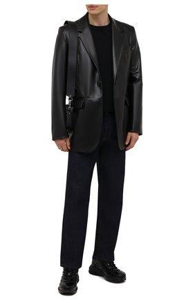 Мужские кожаные кроссовки giv 1 GIVENCHY черного цвета, арт. BH004WH0V8 | Фото 2