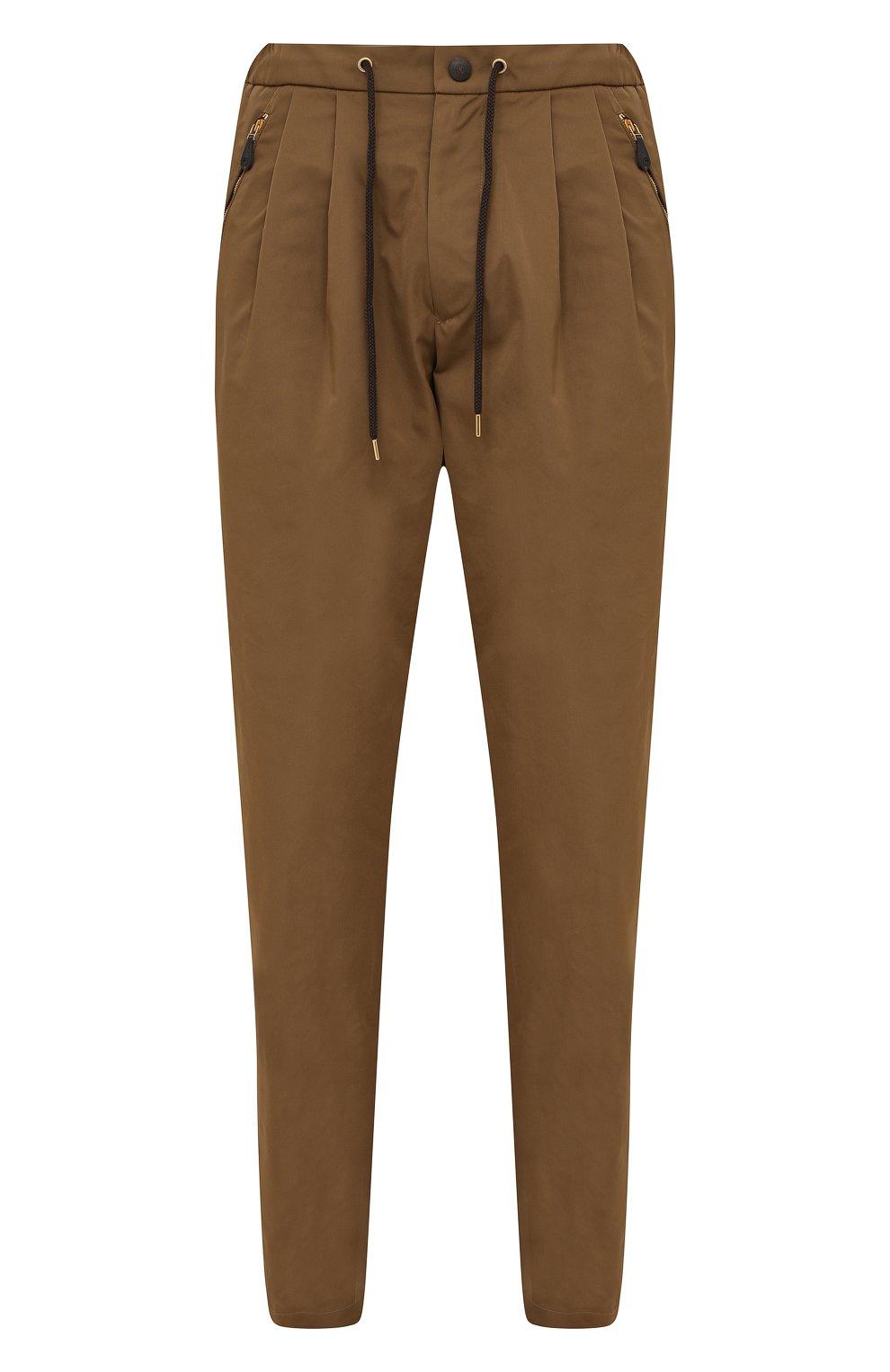 Мужские брюки GIORGIO ARMANI бежевого цвета, арт. 1WGPP0JA/T02P3   Фото 1