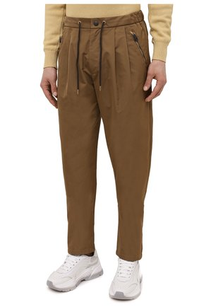 Мужские брюки GIORGIO ARMANI бежевого цвета, арт. 1WGPP0JA/T02P3   Фото 3