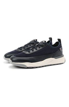 Мужские комбинированные кроссовки SANTONI темно-синего цвета, арт. MBI021534BGRRHPRU60 | Фото 1