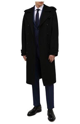 Мужские кожаные оксфорды SANTONI черного цвета, арт. MCCG17836MH4H0BRN01 | Фото 2
