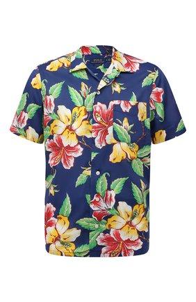 Мужская хлопковая рубашка POLO RALPH LAUREN разноцветного цвета, арт. 710842892/5396 | Фото 1