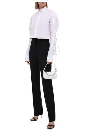 Женская хлопковая рубашка DANIILBERG белого цвета, арт. BL006 | Фото 2