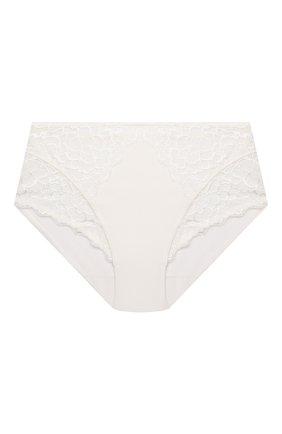 Женские трусы-слипы SIMONEPERELE белого цвета, арт. 12A770 | Фото 1