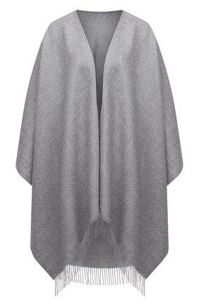 Женская шерстяная шаль lucca BALMUIR серого цвета, арт. 130102   Фото 1
