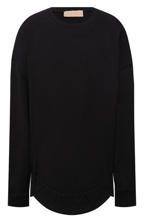 Женский хлопковый свитшот RUBAN черного цвета, арт. RPS21-19.1.62.2   Фото 1