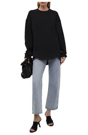 Женский хлопковый свитшот RUBAN черного цвета, арт. RPS21-19.1.62.2   Фото 2