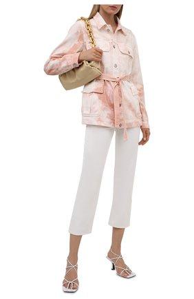 Женская джинсовая куртка TWO WOMEN IN THE WORLD розового цвета, арт. A1HR006 Day | Фото 2