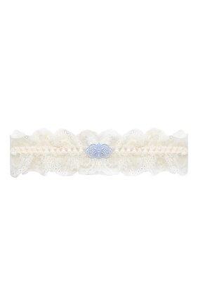 Женские подвязка AUBADE кремвого цвета, арт. DA99 | Фото 1 (Материал внешний: Синтетический материал)