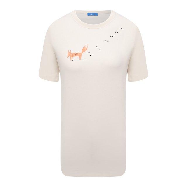 Хлопковая футболка Vika 2.0
