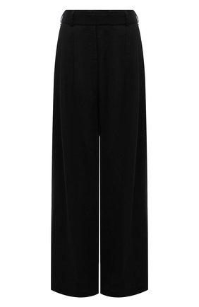 Женские льняные брюки RUBAN черного цвета, арт. RPSU21-7.1.57.2   Фото 1