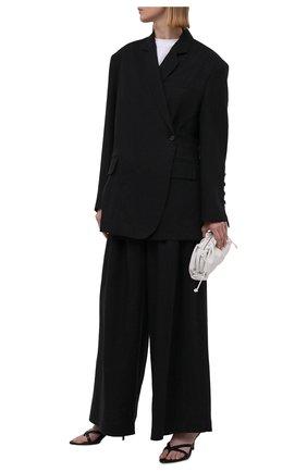 Женские льняные брюки RUBAN черного цвета, арт. RPSU21-7.1.57.2   Фото 2