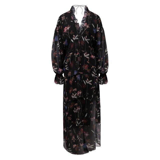 Шелковое платье Ruban