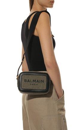 Женская сумка b-army BALMAIN хаки цвета, арт. WN1BA663/TCPY | Фото 2