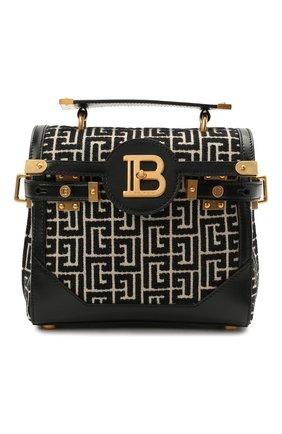 Женская сумка buzz 23 BALMAIN черно-белого цвета, арт. WN1DB599/TJGH | Фото 1