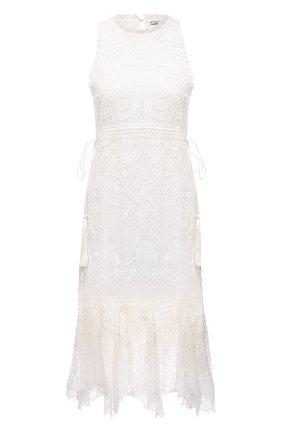 Женское платье ALICE + OLIVIA белого цвета, арт. CC104D14535   Фото 1