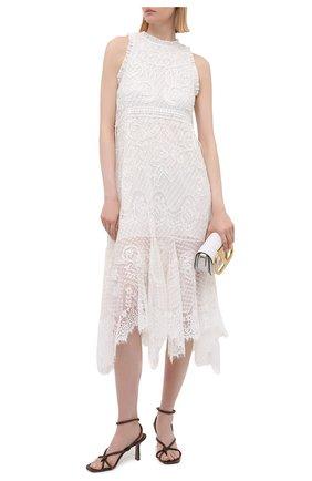 Женское платье ALICE + OLIVIA белого цвета, арт. CC104D14535   Фото 2