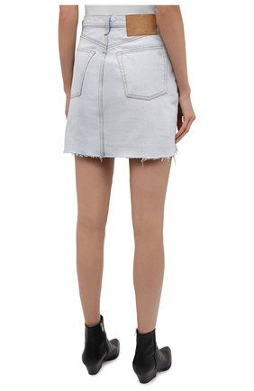 Женская джинсовая юбка RAG&BONE светло-голубого цвета, арт. WDD21S1B31B1RA | Фото 4