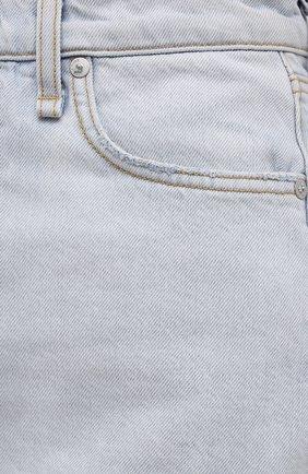 Женская джинсовая юбка RAG&BONE светло-голубого цвета, арт. WDD21S1B31B1RA | Фото 5