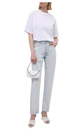 Женские джинсы RAG&BONE светло-голубого цвета, арт. WDD21S2767B1RH | Фото 2