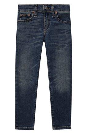 Детские джинсы POLO RALPH LAUREN синего цвета, арт. 321750426 | Фото 1