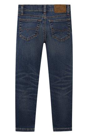 Детские джинсы POLO RALPH LAUREN синего цвета, арт. 321750426 | Фото 2