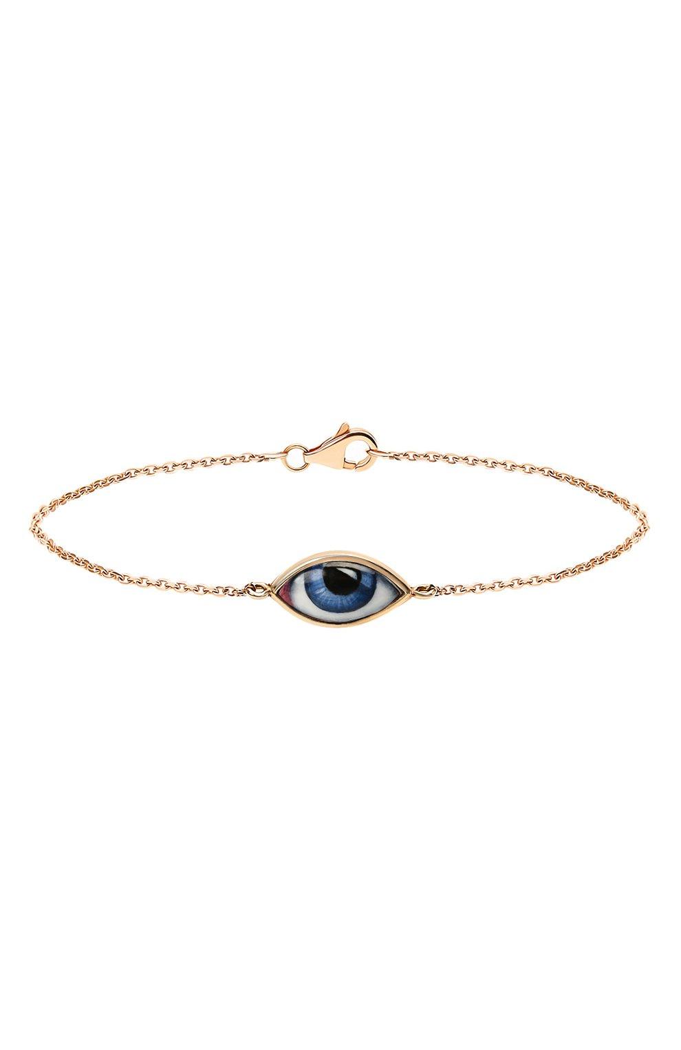 Женский браслет LITO бесцветного цвета, арт. B-L-237   Фото 1 (Драгоценные камни: Без драгоценных камней; Материал сплава: Розовое золото)