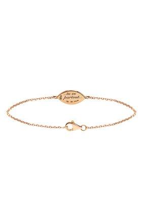 Женский браслет LITO бесцветного цвета, арт. B-L-237   Фото 2 (Драгоценные камни: Без драгоценных камней; Материал сплава: Розовое золото)