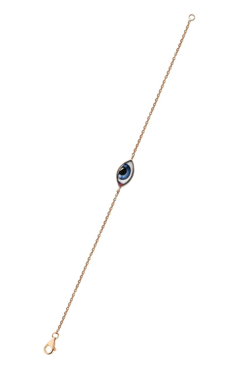 Женский браслет LITO бесцветного цвета, арт. B-L-237   Фото 3 (Драгоценные камни: Без драгоценных камней; Материал сплава: Розовое золото)