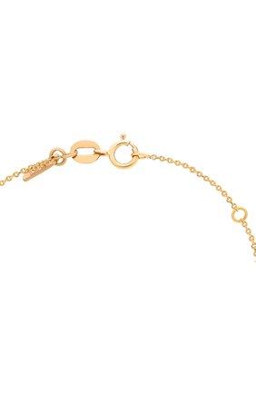 Женские колье LITO бесцветного цвета, арт. N-L-005   Фото 3 (Драгоценные камни: Бриллианты; Материал сплава: Желтое золото)