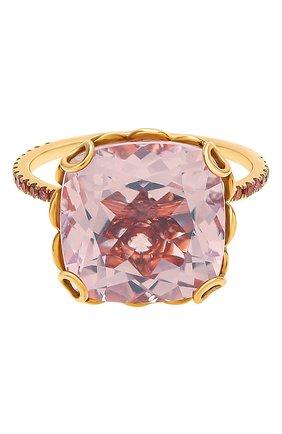 Женские кольцо LITO бесцветного цвета, арт. R-L-093   Фото 2