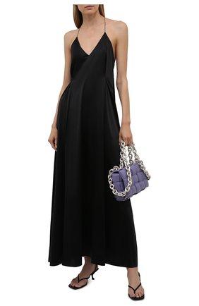 Женское платье DANIILBERG черного цвета, арт. D004 | Фото 2