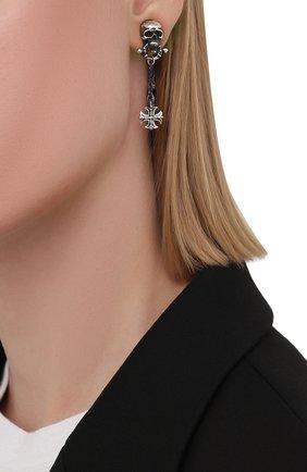 Женские моносерьга флибустьер GL JEWELRY серебряного цвета, арт. M200004-S97-01 | Фото 2