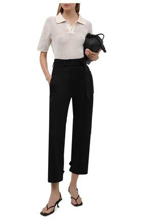 Женские хлопковые брюки RUBAN черного цвета, арт. RPS21-7.1.51.2   Фото 2