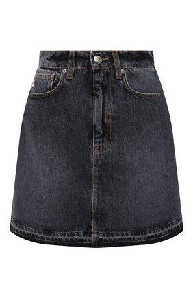 Женская джинсовая юбка TWO WOMEN IN THE WORLD серого цвета, арт. A12OW7  Fosca | Фото 1