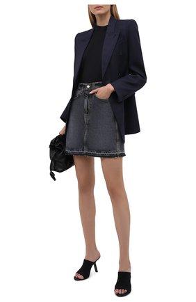 Женская джинсовая юбка TWO WOMEN IN THE WORLD серого цвета, арт. A12OW7  Fosca | Фото 2