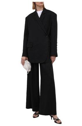 Женский льняной жакет RUBAN черного цвета, арт. RPSU21-3.1.57.2   Фото 2