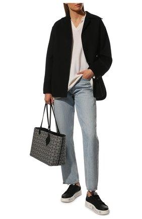 Женские комбинированные кеды belle PREMIATA черного цвета, арт. BELLE/VAR5248 | Фото 2