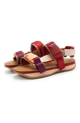 Женские комбинированные сандалии ysee SEE BY CHLOÉ разноцветного цвета, арт. SB36013A/13040 | Фото 1