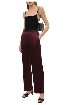 Женские брюки ESCADA бордового цвета, арт. 5025741 | Фото 2