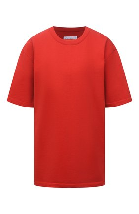 Женская хлопковая футболка HERON PRESTON FOR CALVIN KLEIN красного цвета, арт. K10K108252   Фото 1