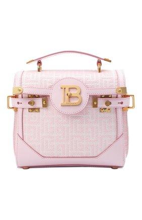 Женская сумка buzz 23 BALMAIN розового цвета, арт. WN1DB599/TJGH | Фото 1