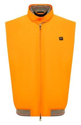 Мужской жилет PAUL&SHARK оранжевого цвета, арт. 21412016/IBM/3XL-6XL | Фото 1
