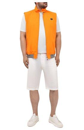 Мужской жилет PAUL&SHARK оранжевого цвета, арт. 21412016/IBM/3XL-6XL | Фото 2