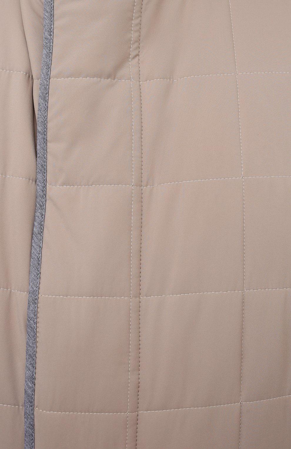 Мужской утепленный жилет PAUL&SHARK светло-бежевого цвета, арт. 21412403/DF/3XL-6XL | Фото 5